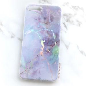 Accessories - NEW iPhone 7/8/7+/8+ Iridescent Marble Soft Case